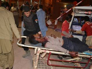 44 dead in Pakistan police centre attack