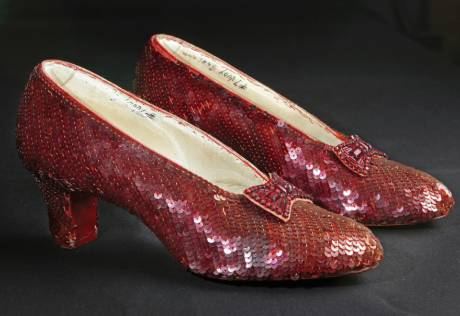 'Wizard of Oz' slippers project achieves goal
