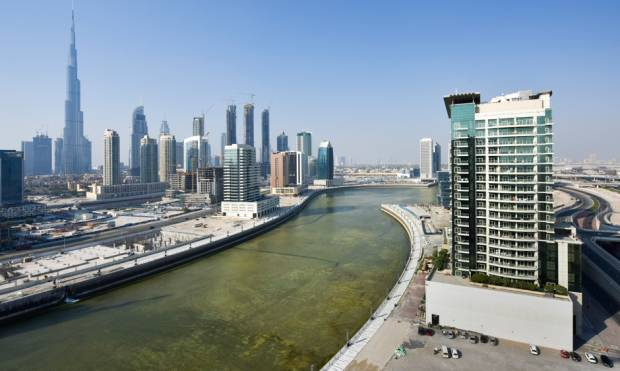 Water starts filling up Dh2b Dubai Canal
