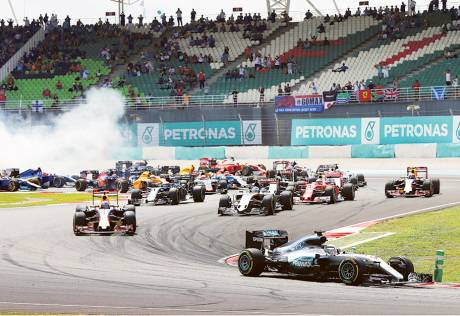 Malaysia to take a break from F1 action