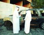Principal's car set on fire in Saudi Arabia