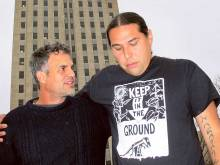 Ruffalo in North Dakota to oppose oil pipeline