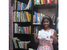 Pupil initiates community library