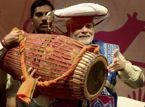 Modi inaugurates first national Tribal Carnival