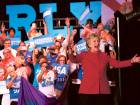 With two weeks to go until election day, Hillary Clinton was earlier thisweek campaigning in Florida.