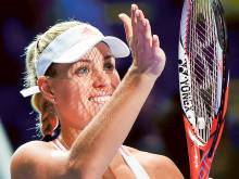 Perfect Kerber on a high in Singapore