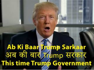 Trump tries Hindi in new campaign video