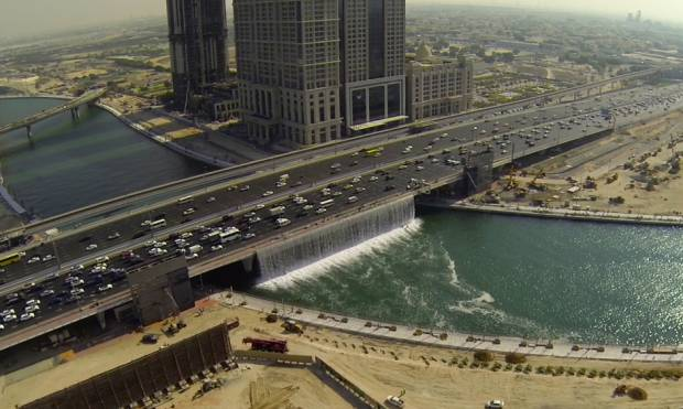Watch: Stunning drone footage of Dubai Canal