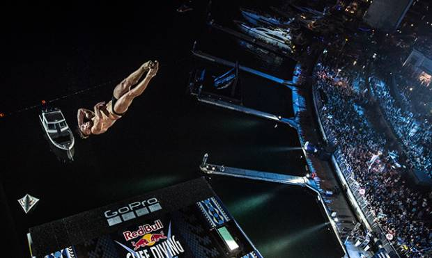 Highlights form the Red Bull Cliff Diving finale