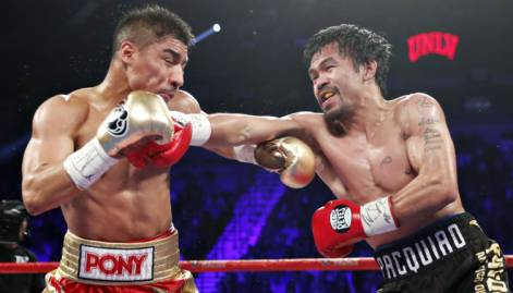 Pacquiao vs Vargas: in pictures
