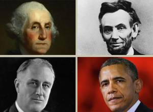 Infographic: US presidents through the years