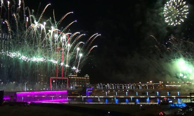 Dubai Canal opens with fireworks