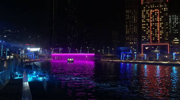 As it happened Awesome lights-and-sound show as Dubai Water Canal officially opens & As it happened: Awesome lights-and-sound show as Dubai Water Canal ... azcodes.com