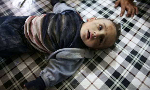 Misery of Douma's children continues