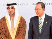 Mansour attends climate change conference