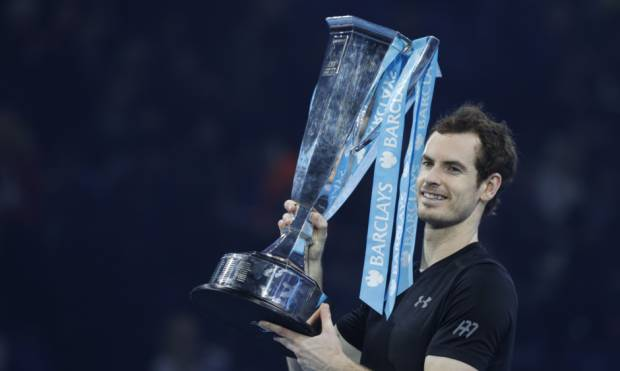 Pics: Murray beats Djokovic to win ATP Finals