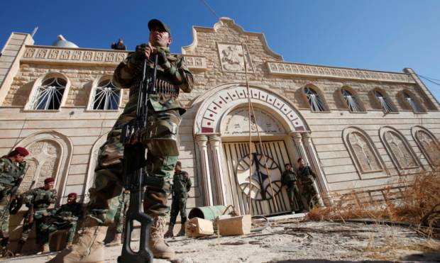 Pictures: Church in Iraq reopened after 2 years