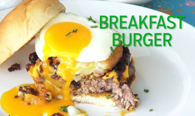 Big Daddy's breakfast burger breakdown