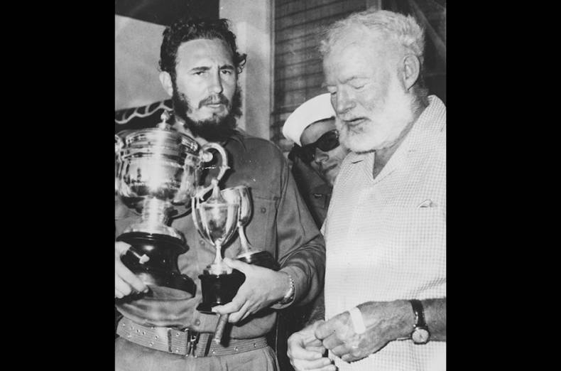 ernest-hemingway-right-stands-with-cuba-s-leader-fidel-castro