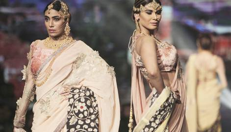 Alluring display of bridal couture in Lahore