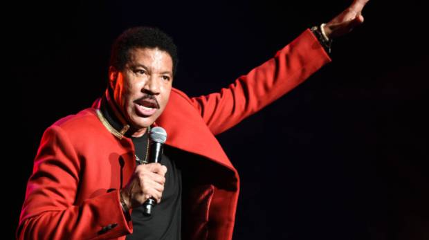 Legendary crooner Lionel Richie