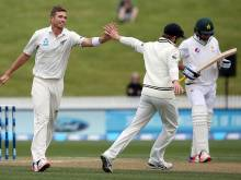 Southee's six keeps hosts in front of Pakistan