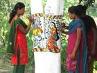 Painting campaign helps save Bihar trees