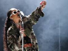 Review: Rihanna brings upbeat show to Abu Dhabi