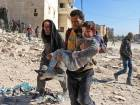 Thousands flee rebel-held districts of Aleppo