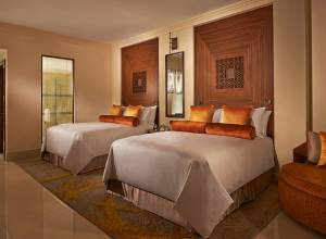 Weekend city getaway at Fairmont The Palm