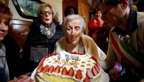 Emma Morano, world's oldest person turns 117