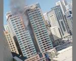 Fire in Sharjah building: Flames put out