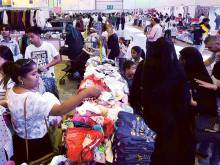 Crowds throng Sharjah's first CEF expo