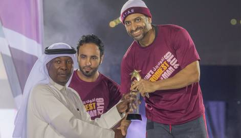 Qatar's 'strongest man' crowned anew