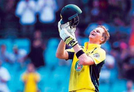 Smith sets home turf at Sydney on fire