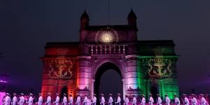 The colourful Indian Navy Day celebrations