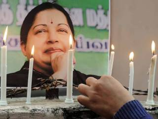 Jayalalitha laid to rest with full state honours