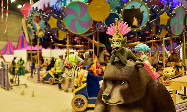 A glimpse inside DreamWorks zone in motiongate Dubai