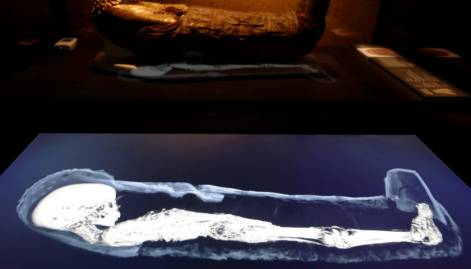 Three-dimensional images of mummies from Egypt