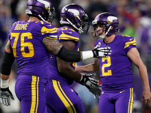 Vikings Peterson says return linked to play-offs