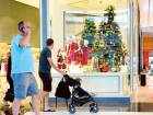 Christmas decorations at a local mall. Brick-and-mortar retailers are hoping Christmas and the Dubai Shopping Festival (DSF), which also falls during this month, will boost sales.