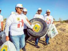 6,000 volunteers join clean-up drive