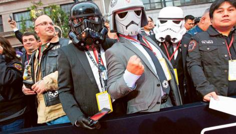 Rogue One: A Star Wars Story Red Carpet Arrivals