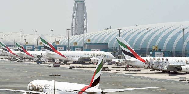Emirates flies first A380 to two regions