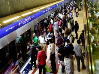 Passengers on Dubai Metro face major delays
