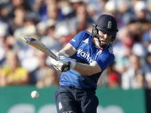 Morgan tunes up for India tour with a big bash