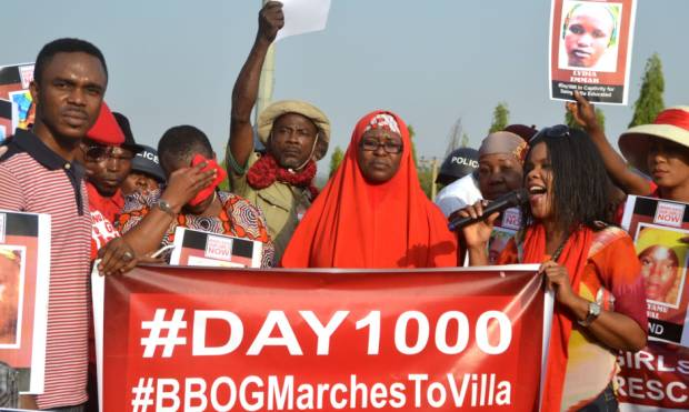 Rally marks 1000 days since Chibok abduction