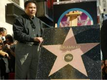 January 12, 2002: Ali accepts Hollywood honour