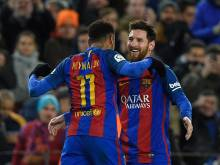 MSN strike as Barca surge into final