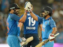 Kohli, Jadhav centuries help India beat England